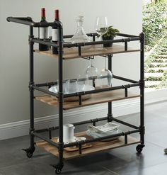 Thelonius Bar Cart