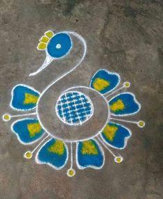 Wall Paper Flowers Design Colour 67 Ideas Easy Rangoli Designs Diwali, Rangoli Simple, Indian Rangoli Designs, Rangoli Designs Latest, Simple Rangoli Designs Images, Rangoli Designs Flower, Free Hand Rangoli Design, Small Rangoli Design, Rangoli Patterns