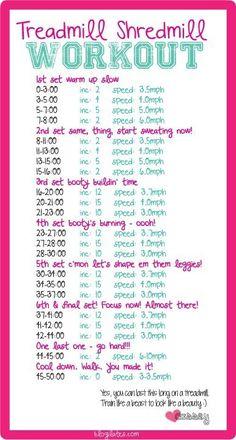 treadmill cardio workout  | LBV ♥✤ | BeStayHealthy