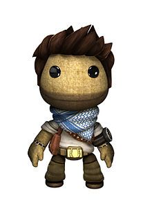 Nathan Drake from Little Big Planet