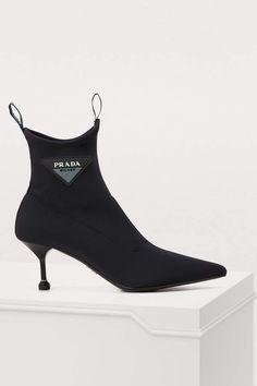 4833afcb0182 Buy Prada Neoprene ankle boots online on 24 Sèvres.