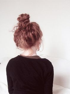 why can't i get my messy buns to look like this?!