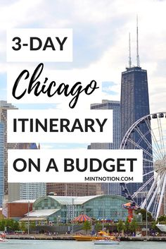 3-day Chicago itinerary. CityPASS. This guide is perfect for first-time visitors to see the best of the city!  Weekend Chicago Itinerary | First-time Visitor's Guide | Bucket list Chicago | Budget Chicago | Things To Do In Chicago | Chicago CityPASS