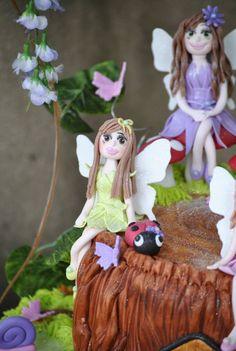 Cake faeries Faeries, Tea Party, Plum, Fairy, Princess Zelda, Christmas Ornaments, Purple, Holiday Decor, Cake