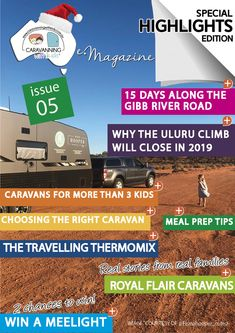 This issue brings together some of our most popular articles along with our regular features. Real Stories from Real Families. Family Van feature from Royal Flair Caravans and so much more… Popular Articles, Real Family, Free Travel, Caravans, Adventure Awaits, Families, Highlights, My Family, Luminizer