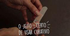 Mágicas na Cozinha: como usar o curativo do jeito certo | <i>Crédito: Luciano Cavalcante