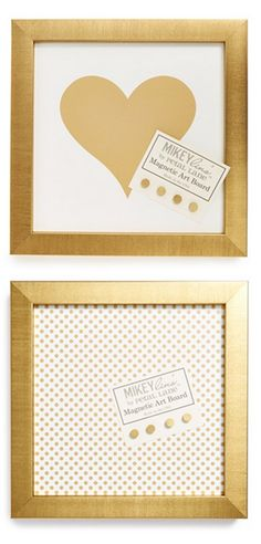 Super cute office art: love these magnetic boards!