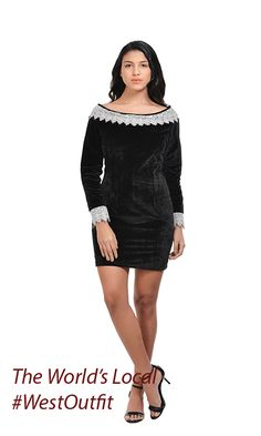 ddbeb623ab45 Off shoulder velvet lace dress  westoutfit  fashionillustration   fashionbloggers  fashiongoals dressing