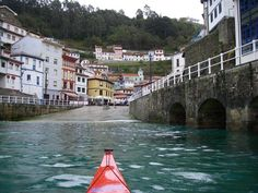 Cudillero, Asturias.One of the many fishing villages