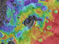 Marte teve supervulcões no início da sua formação - PÚBLICO