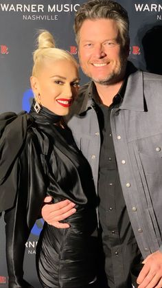 Gwen And Blake, Blake Shelton And Gwen, Gwen Stefani And Blake, Gwen Stefani Style, Celebrity Couples, My Man, Happily Ever After, Singer, Romantic