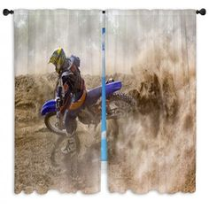 Motocross Rider Creates a Large Cloud of Dust   | bedroom ideas | | bedroom decor | | bedroom | | window curtains | #bedroom #bedroomdecor #motocrossthemedhomedecorbedding #motocrossthemedwindowcurtains #motocrossthemedhomedecorcomforters #motocrossthemedhomedecorduvetcovers    https://www.visionbedding.com/