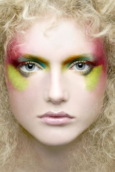 Make Up Face photographed by Lionel Deluy- ONE EYELAND