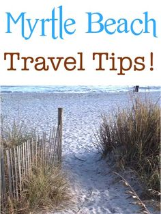 Myrtle Beach Travel Tips