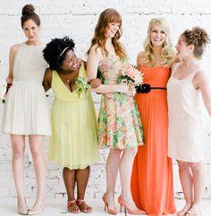 Wedding Week: Budget-friendly Bridesmaid Fashion - The Everygirl - Earn Money Wedding Week, Wedding Show, Dream Wedding, Summer Wedding, Bridesmaid Inspiration, Wedding Inspiration, Wedding Ideas, Wedding Poses, Wedding Stuff
