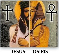 Ausar and the Ankh.... Comes before Jesus and the Cross... Yet many will have you to believe that Jesus and Christianity are AUTHENTIC and ORIGINAL...@ reading is fundamental.....!