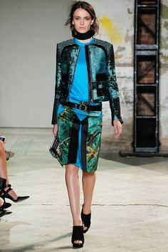 Vogue's Guide to Spring 2013 Fashion  The Cool Suit: Miu Miu