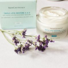 """New from Skinceuticals - one of my favourite brands in the wuuurld. Triple Lipid Restore cream is scrumptious. I have already """"committed"""" to tonight's routine - i.e every lotion and potion has been plastered on, but tomorrow... I CAN'T WAIT TO HAVE MY LIPIDS RESTORED! #skinceuticals #skincare #moisturiser #moisturizer #skinceuticalstriplelipidrepair #luxe #luxury #luxuryskincare #lipids #bbloggers #irishbbloggers #instabeauty #beauty #beautyinsta #beautyinstagrammers"""