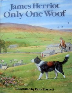 MOTHER'S DAY SALE - 25% off all vintage books - Only One Woof by James Herriot (1985) - Vintage Children's Book