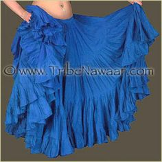 "Tribe Nawaar's True Blue 25 Yard Cupcake Skirt *New Color Variation"" Limited stock available!"
