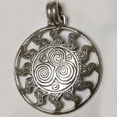 13 best sun pendants images on pinterest sterling silver pendants celtic sun pendant this solid sterling silver pendant makes the perfect solstice gift features aloadofball Gallery