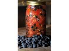 Blueberry Salsa...Make with local blueberries! |