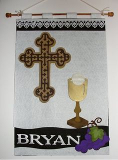 first communion banner idea