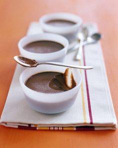 Chocolate Custard Cups Recipe