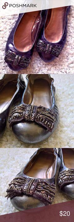 d2eafe4772d0f2 Mariella silver glitter sequin sandals size 8 NWT NWT