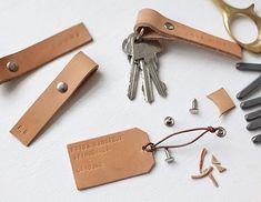 Jag har haft lite svårt att hålla isär alla nycklar på kontoret. Dem som går till ytterdörren, porten, mitt eget hem och till säkerhetsskåpet ser nästan likadana ut. Häromdagen gjorde vi därför ett ro