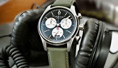 フレデリック・コンスタントとともに、MMTの供給するMotionXテクノロジーを搭載し、スマートフォンと連携する時計を発表したアルピナ。フレデリック・コンスタント グループの一員だが、ジュネーブの歴史あるブランドであり、その外観はフレデリッ