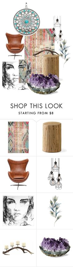 """Untitled #5"" by n-sukys ❤ liked on Polyvore featuring interior, interiors, interior design, home, home decor, interior decorating, Pier 1 Imports, Thomas Sabo and colorfulrugs"