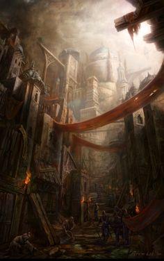 Diablo III concept art - Blizzard