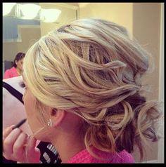 #bridesmaid bridal updo