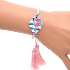 Seed Bead Jewelry, Bead Jewellery, Beaded Jewelry, Handmade Jewelry, Bead Loom Patterns, Jewelry Patterns, Bracelet Patterns, Beaded Brooch, Beaded Earrings