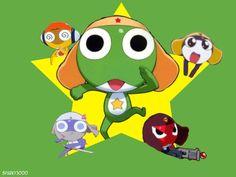 Sgt. Frog Kululu, Keroro, Giroro, Dororo, Tamama