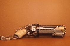 Cyberpunk - modded Nerf Shotgun