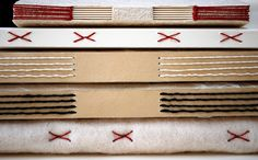 variations on longstitch bindings