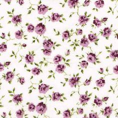 Liberty Fabric Nina J Purple Violet Tana Lawn Fat Quarter