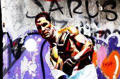 Stick & Move #buildinggraffiti #graffitiart #art #streetart #handmade #instagraffiti #street #graff #animation #urban #wallart #spraypaint #aerosol #spray #wall #mural #murals #painting #arte #color #streetartistry #artist #grafiti #urbano #rue #guerillaart #valparaiso #chili by one3__