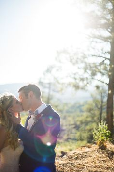 Can't get enough of the sun flares in this photo!!!!  Photo from JON   AUBREY WEDDING collection by Jen Brazeal Photography
