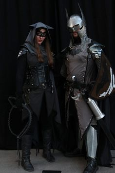 Cool Medieval Batman and Catwoman at DragonCon 2012... Has to be one of the coolest things i have seen...