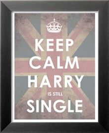 Keep calm Harry is still single