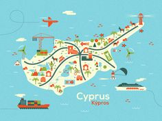 Cyprus map (Personal 2012/13)