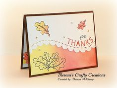 Theresa's Crafty Creations: Falling leaves....
