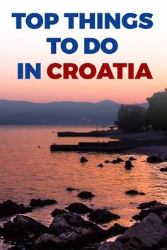 Wondering what to do in Croatia? Check out these absolute-must-do things to do in Croatia in What else would you suggest? Europe Travel Tips, Us Travel, Travel Guides, Family Travel, Travel Advice, Luxury Travel, Beautiful Places To Visit, Cool Places To Visit, Places To Travel