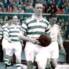 Jock Stein of Celtic in 1956. Celtic Pride, Celtic Fc, Football Program, Glasgow, Scotland, Legends