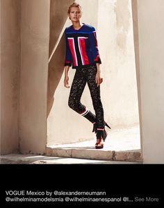 Look from S/S 15 collection #peru #fashion #anialvarezcalderon