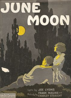 sheet music, 1921