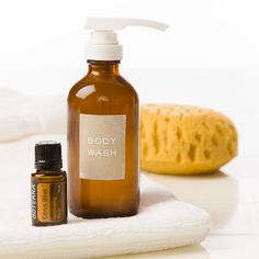 You can make your own body wash at home with this easy DIY tutorial that allows you to incorporate your favorite essential oils into a smooth, scented body wash.
